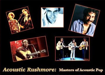 Acoustic Rushmore - masters of Acoustic Pop