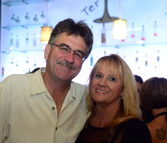 Owners Kevin and Terri Walsh